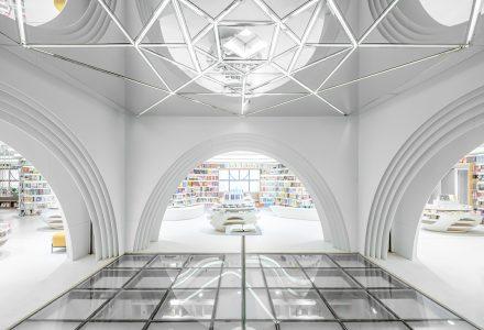 "西安""钟书阁""书店设计 / Wutopia Lab"