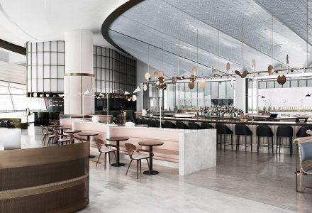 迪拜大剧院Sean Connolly精品餐厅设计