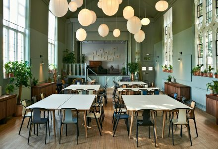 伦敦首席米其林大厨的剩食餐厅
