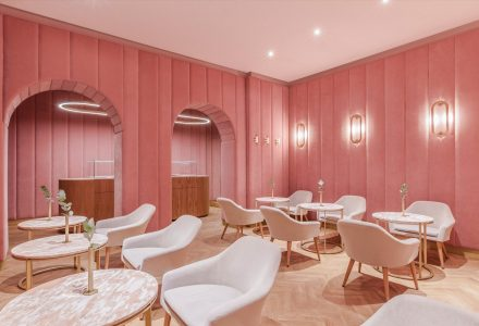 波兰Nanan Patisserie粉红蛋糕店