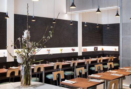 纽约·烹饪与美学结合的披萨店设计
