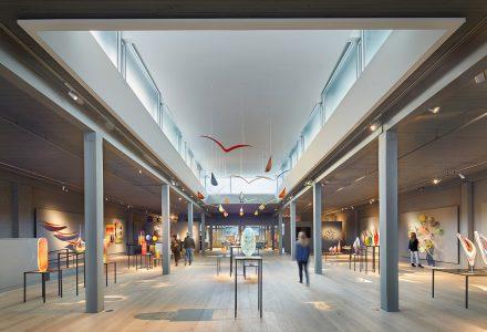 西雅图Lino Tagliapietra玻璃艺术工作室+展厅