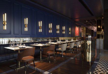 上海·LARGEIGHT美食酒廊 / 偏离设计
