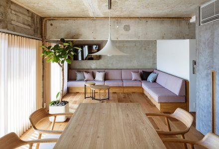 """神奈川""""混凝土+日式""""公寓设计"""