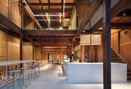日本京都町屋改造蓝瓶子咖啡店设计