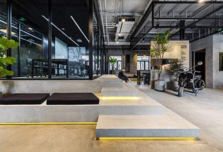 北京厂房改造WMY工业风办公空间设计