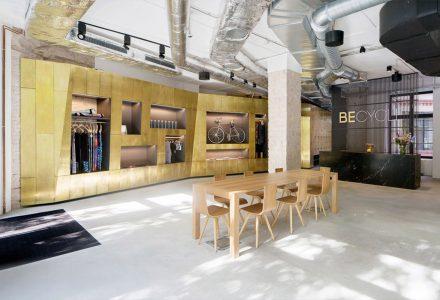 柏林·BECYCLE夜店风健身房设计