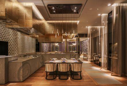 科威特四季酒店Dai Forni和Sintoho全日制餐厅