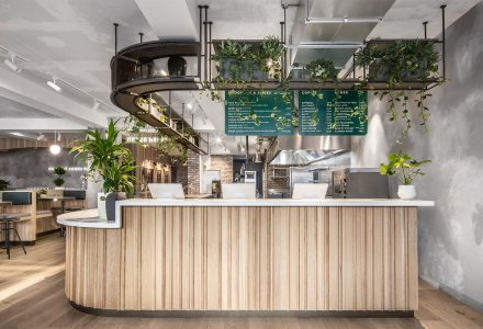 伦敦·清新的Farmer J鸡尾酒酒吧餐厅