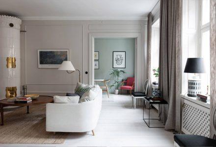 北欧风情瑞士公寓 / BoConcept