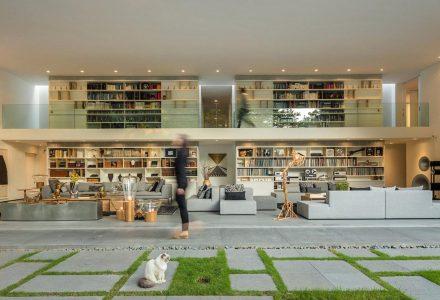 圣保罗Gama Issa别墅改造设计