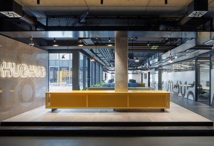 布拉格HubHub共享办公室设计