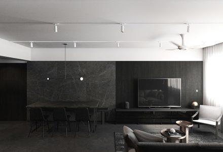 时髦的男性风格住宅设计 / 0932 Design