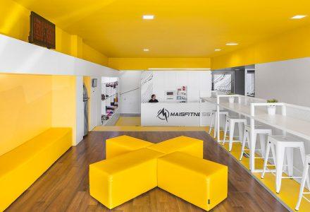 葡萄牙Mais Fitness健身品牌空间
