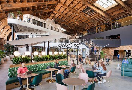 洛杉矶Google谷歌开放式办公空间