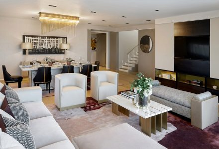 Nova Penthouse轻奢风复式样板房设计