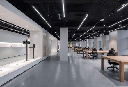 北京华成智云总部办公室设计