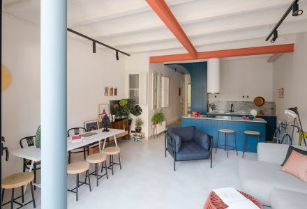 巴塞罗那FONT 6住宅改造设计