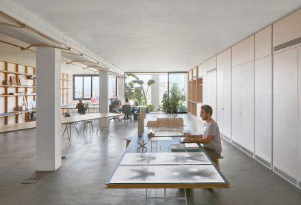 巴塞罗那创意街区联合办公空间