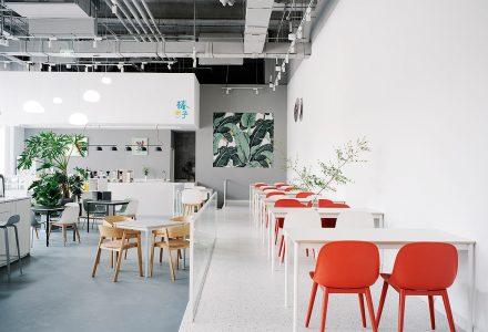 北京·椿予T-Lounge茶饮空间设计