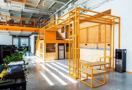 大连·鲸设计办公空间 / 知进建筑