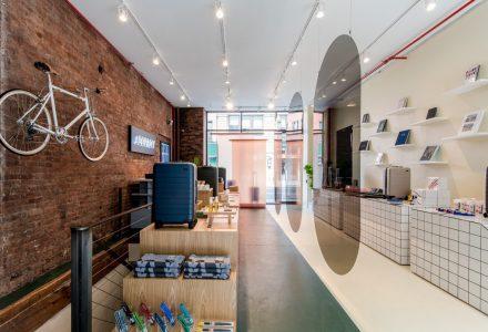纽约·旅行箱包品牌AWAY概念店设计