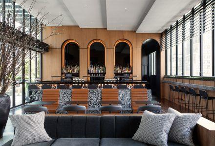 纽约曼哈顿·Castell屋顶精品酒吧