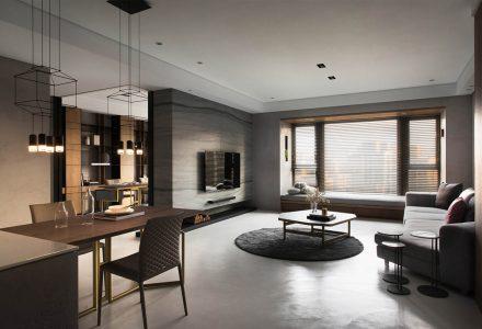 """台湾""""冉冉璞宅""""公寓设计 / 和和设计"""