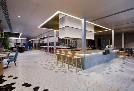 """武汉·""""萨丁伯格""""意式餐厅设计 / Q&A"""