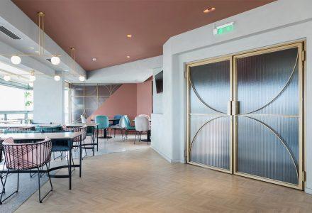 希腊雅典Evripidis酒店屋顶酒吧+早餐室