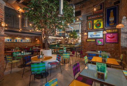 伦敦·Casa Pastor和Plaza Pastor餐厅设计