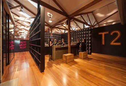 澳大利亚茶叶品牌公司T2总部办公室