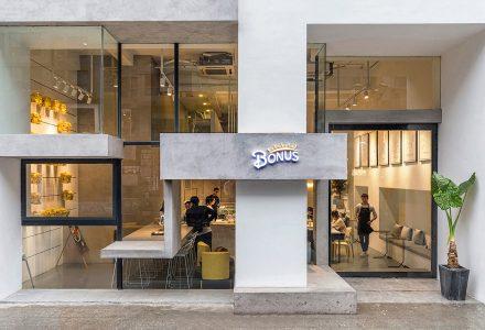 西安·BONUS(福利社)西餐店 / 礽建筑