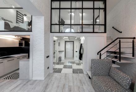 """乌克兰""""里沃夫""""公寓设计"""