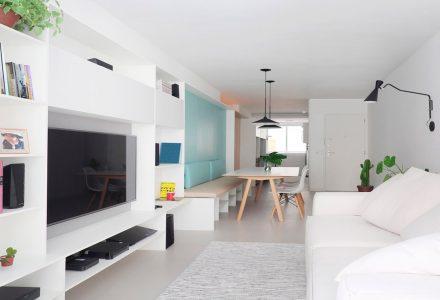 巴西Icaraí80平米小户型公寓设计