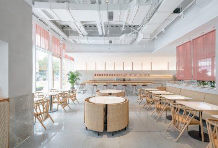 """上海·""""艮上""""品牌茶餐厅 / 一岸设计"""