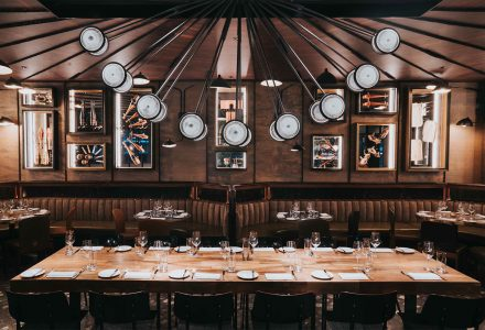 香港·Spiga米其林星级餐厅 / Joyce Wang