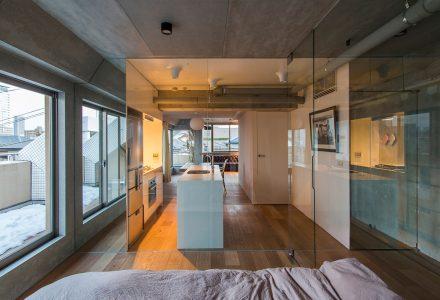 """东京·""""D公寓""""工业风小户型设计"""