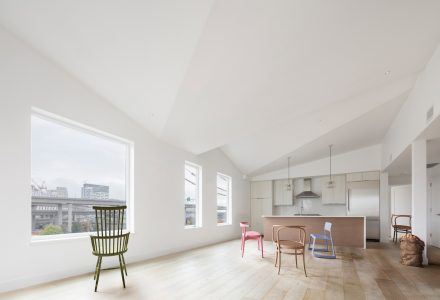 波士顿Outlier Lofts公寓改造设计