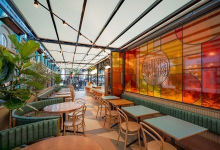 伦敦·Buns&Buns创意酒吧餐厅设计