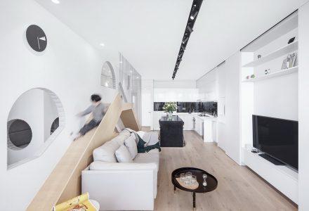 """上海""""墙宅""""亲子空间 / 立木设计研究室"""