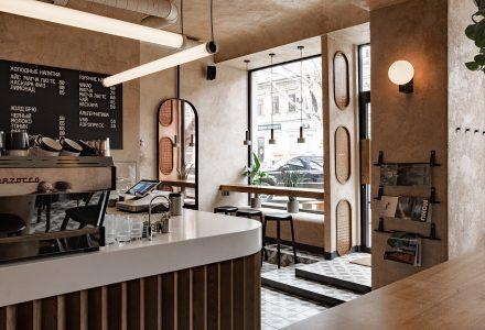 乌克兰·Daily咖啡馆设计