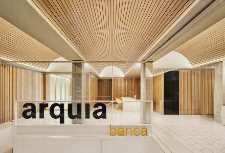 西班牙·Arquia Banca金融服务办公中心设计