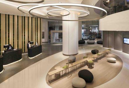 香港·诺富特世纪酒店大堂 / Aedas凯达建筑
