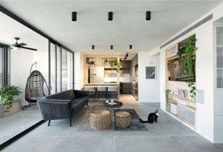 以色列特拉维夫·北欧风现代城市公寓