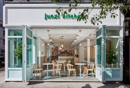 纽约·Junzi Kitchen街道餐厅设计