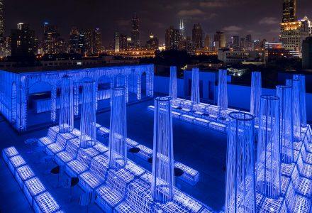 上海·Nyx屋顶酒吧设计 / Alberto Caiola Studio