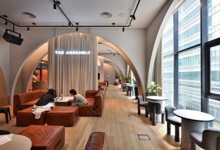 新加坡·The Working Capitol联合办公空间设计