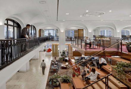 曼哈顿Hill Office开放式办公空间