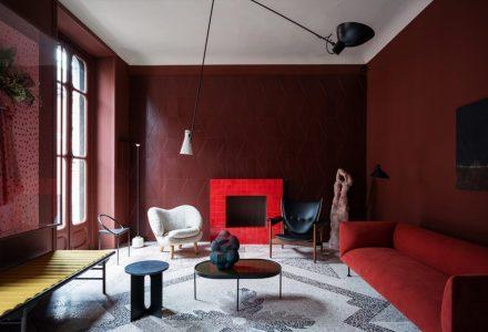 """米兰""""完美的黑暗""""公寓设计"""